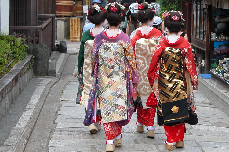 Maiko dance performance with lunch in Kyoto