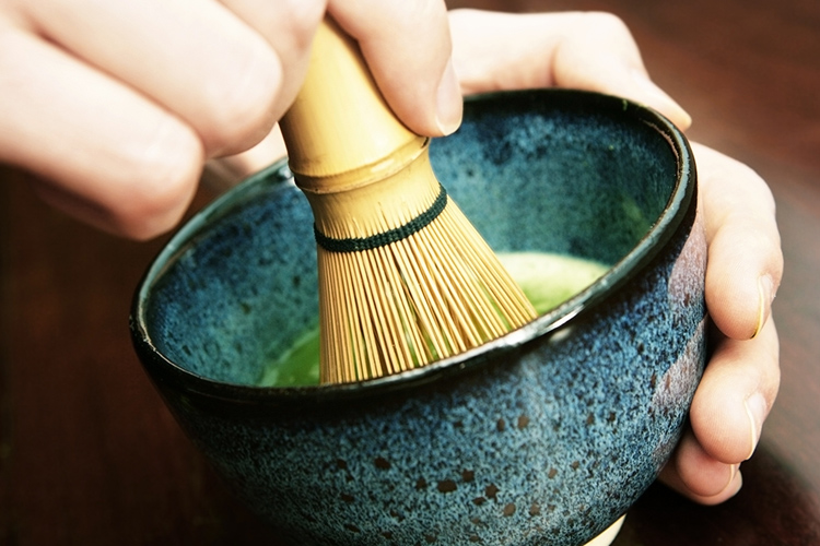 Matcha making experience in Kyoto