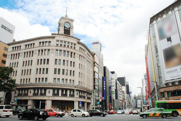 Ginza 4 choume crosing, Tokyo