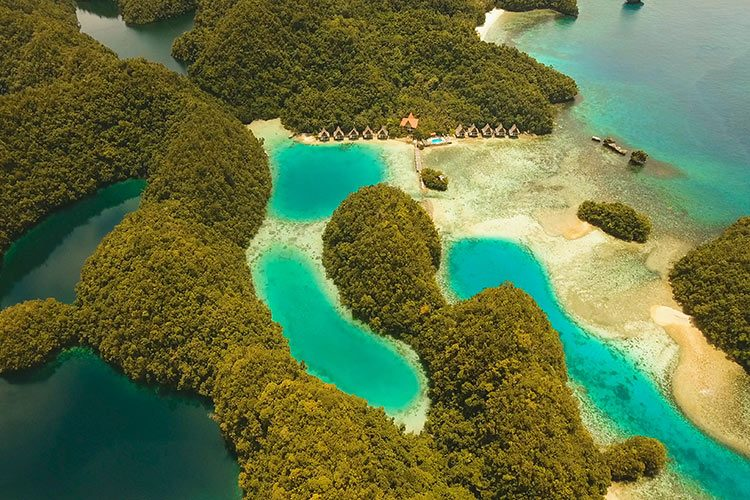 Bucas Grande Island, Sohoton Cove. Philippines
