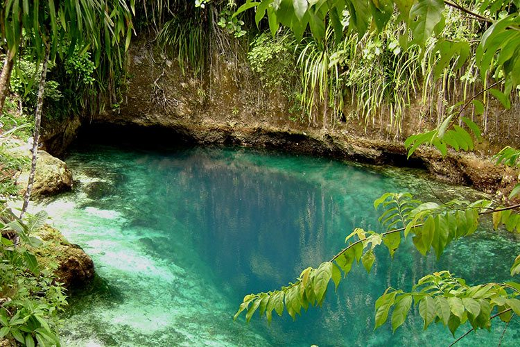 Hinatuan Enchanted River, Surigao del Sur, Philippines