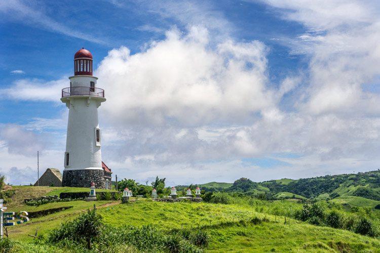 Lighthouse in Basco, Ivatan Island, Batanes