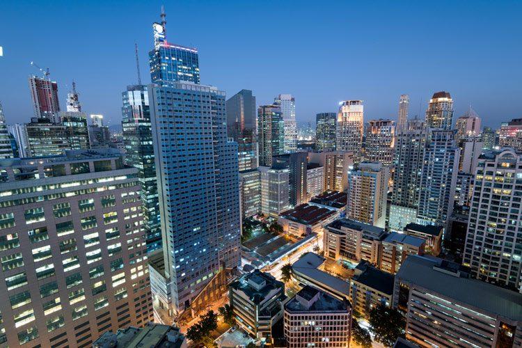 Makati Skyline, Metro Manila, Philippines