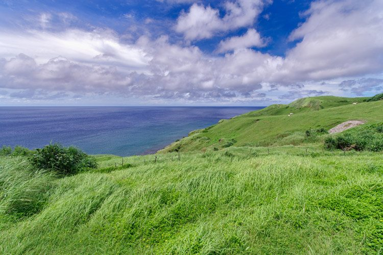 Beautiful view from Naidi Hills, Ivatan Island