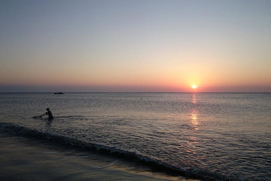 Sunset in Palaui