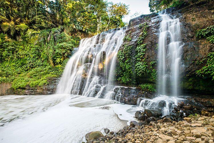 Hinulugang taktak waterfall, Siargao