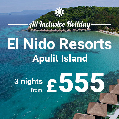 El Nido Resorts banner